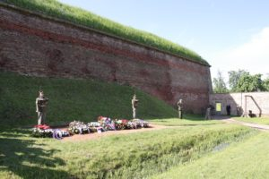 Memorial ceremony, execution place in the Small Fortress, Terezin 19th May 2013, photo: Radim Nytl, PT