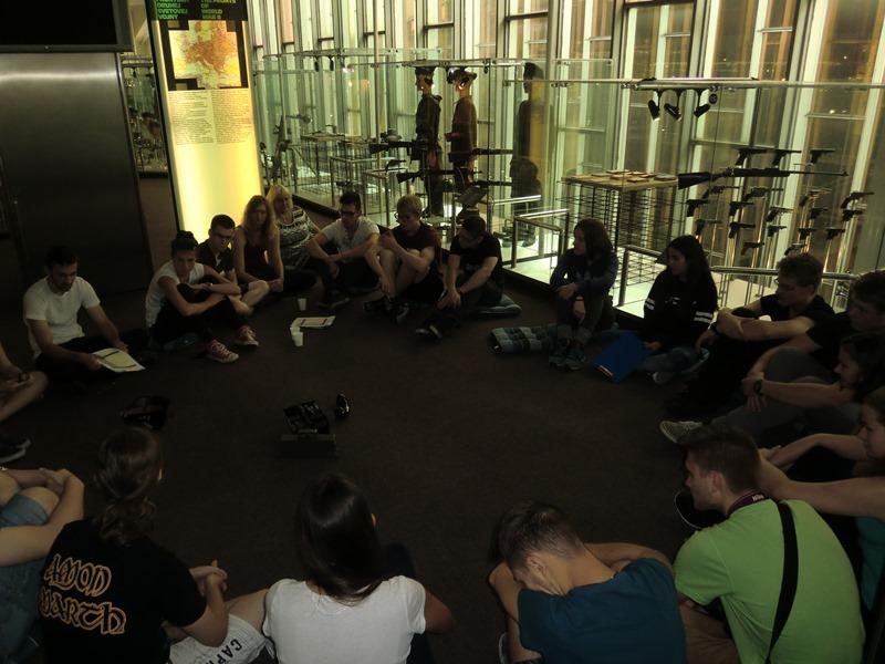 Ze studentské konference v Banské Bystrici, září 2015, foto: Jan Špringl, Památník Terezín