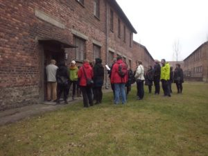 Visit of the Block 10 in Auschwitz I