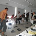 Účastníci semináře při workshopu Miriam Mouryc.