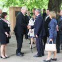 Německý prezident Joachim Gauck s českým prezidentem Milošem Zemanem při návštěvě Památníku Terezín, květen 2014. Foto/Photo: Radim Nytl, Památník Terezín