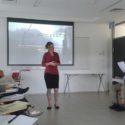 Workshop v Yad Vashem vedený Orit Margaliot, foto: N. Seifertová