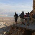 Na Masadě, seminář v Yad Vashem, foto N. Seifertová