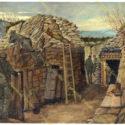13. Theodor Lindner, 1916. Předsunuté postavení u města Monfalcone  na jižním úseku italské fronty, PT 4911.