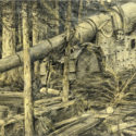 Theodor Lindner, 1916. Ukořistěný italský kanón ráže 254 mm, PT 4916.