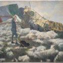 Theodor Lindner, 1916. Italské průzkumné letadlo sestřelené 13. 10. 1916 u Casara Zebio, PT 4972.