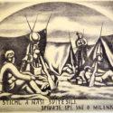 Otto Matoušek, 1927. Po bitvě (z cyklu Zborov), PT 14053, © Luisa Matoušková, Otta Matoušek.