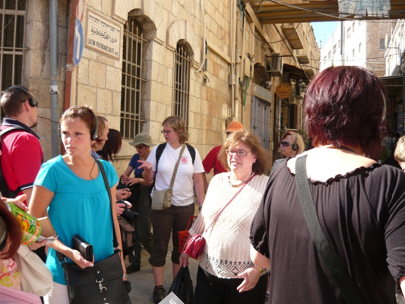 Czech teachers in Jerusalem