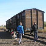 Na prohlídce Alte Judenrampe v Auschwitz-Birkenau