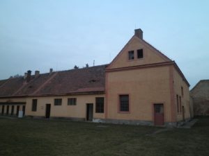 The building of the former laundry in the Small Fortress, photo: Jana Havlínová, Památník Terezín.