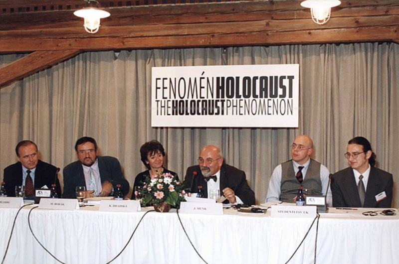 The Conference The Holocaust Phenomenon, a part of the Conference was organized in the Terezin Memorial, October 1999