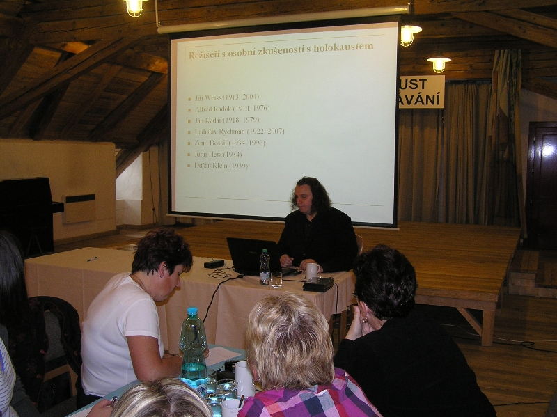 Lecture for Slovak educators by Petr Koura