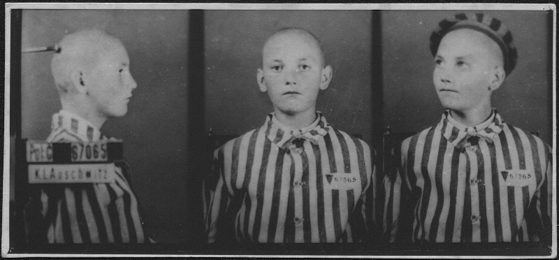Photo of Miroslav Kubík from KL Auschwitz, FAPT 1008