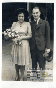 Lisa with her husband, 1945. Private archiv of Lisa Miková.